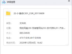 长安逸动C201整车数据下载(CATIA)