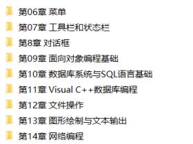 Visual C++从入门到精通视频教程下载(含源码)
