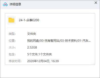 众泰E200整车数据下载(CATIA)