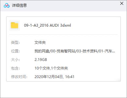 奥迪A3整车数据下载(CATIA格式)