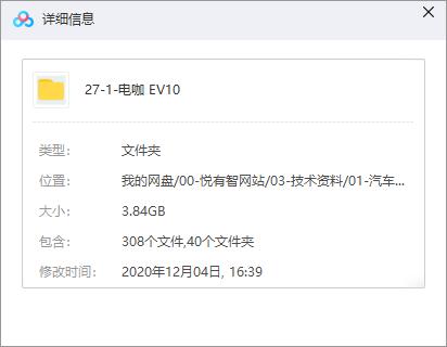 电咖EV10整车数据下载(CATIA)