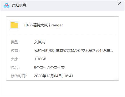 福特Ranger大皮卡整车数据下载(CATIA格式)