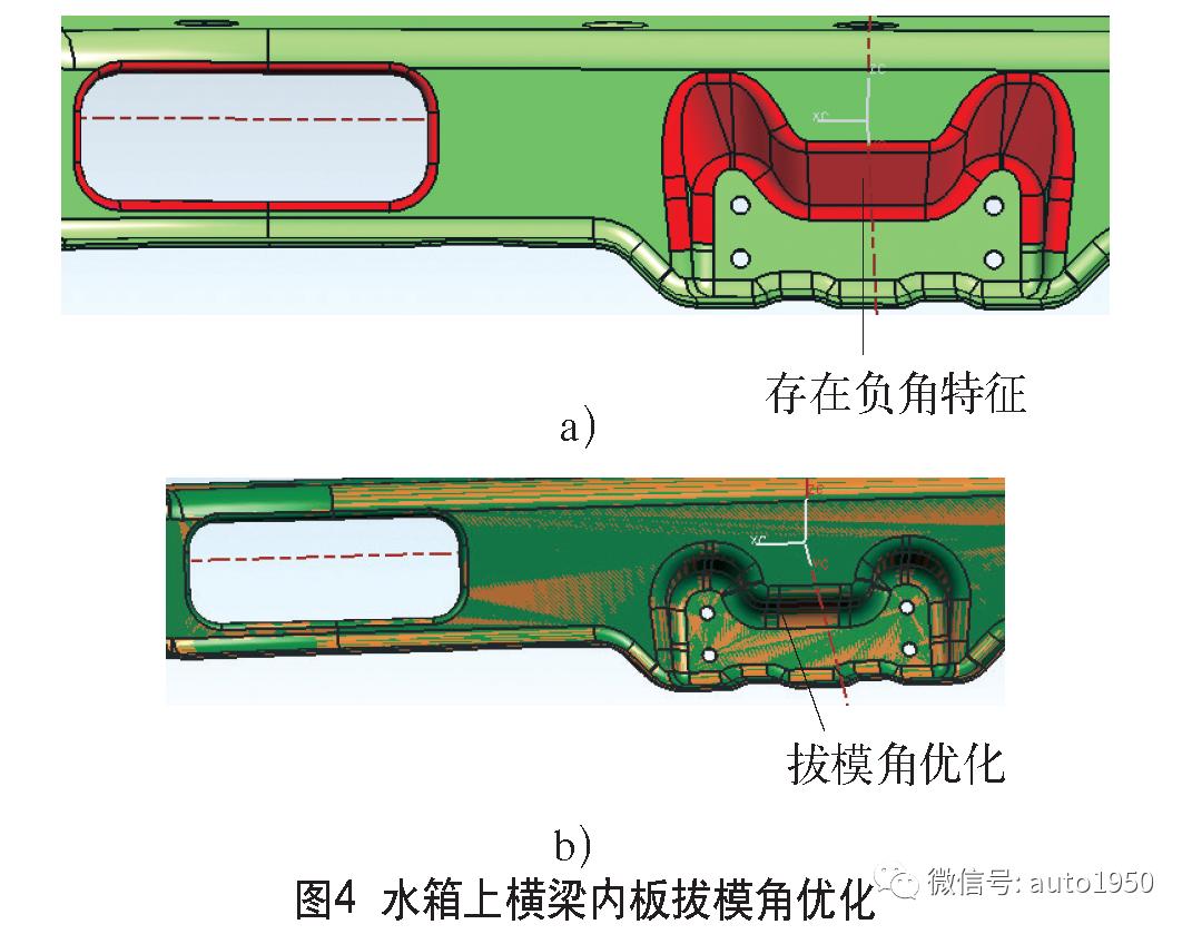 汽车结构件冲压工艺设计优化