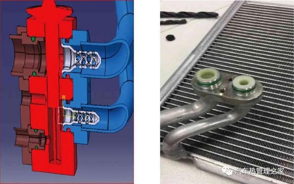 汽车空调系统制冷剂流动噪声研究及性能优化
